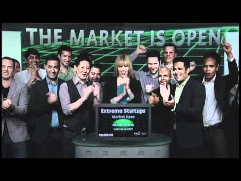 Extreme Startups opens Toronto Stock Exchange, June 19, 2012