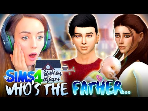 YOU'LL NEVER GUESS WHO... 😰 (The Sims 4 - BROKEN DREAM #35! 🏚)