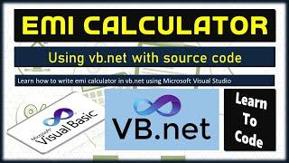 EMI Calculator | VB.net progra…