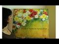 Pintura en acrílico realizada con esponja de mar