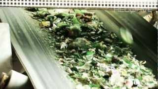 REDWAVE - Glass sorting plant germany