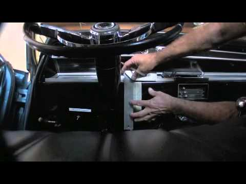 1966 chevelle knee knocker tach installation by scared shiftless