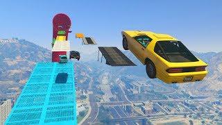 SUPER PARKOUR IMPOSIBLE!! SALTA!! - CARRERA GTA V ONLINE - GTA 5 ONLINE