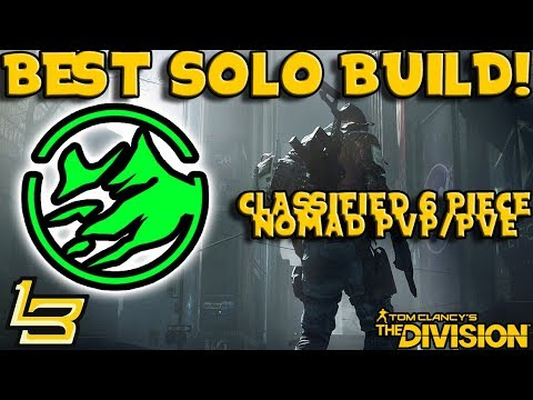 1.8 BEST SOLO BUILD! (The Division)