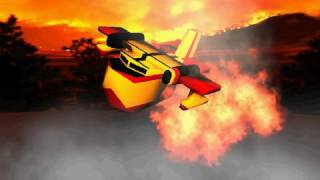 Canadair Flyby