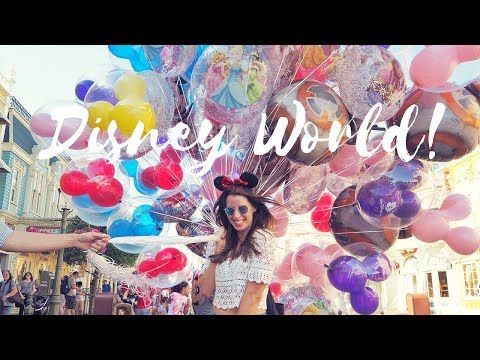 CARLY IN DISNEYWORLD | ORLANDO TRAVEL GUIDE!