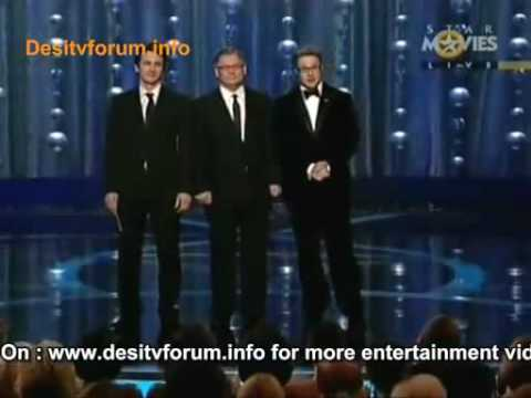 Oscars 2009: James Franco and Seth Rogen  /'Pineapple' skit/