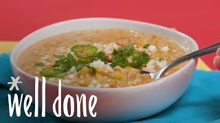How to Make Street Corn Soup | Recipe | Well Done