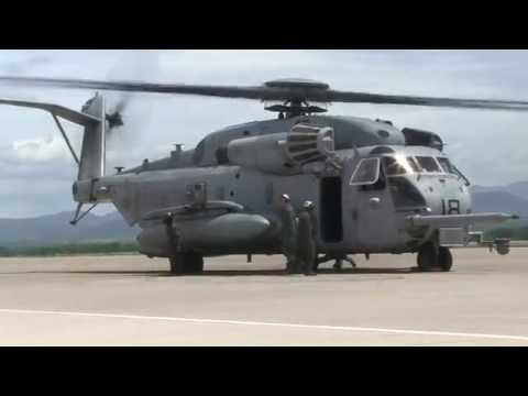 U.S. Marines on the Flight Line at Soto Cano Air Base, Honduras (HD)