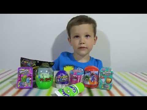Шопкинс Мстители Трешпэк Ниндзя сюрпризы с игрушками распаковка
