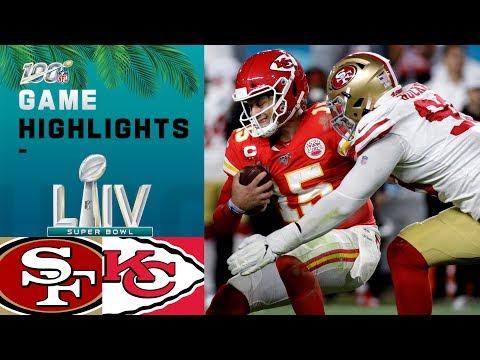49ers contre Chefs   Points forts du jeu Super Bowl LIV