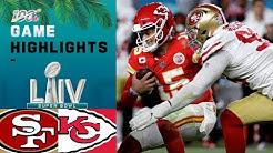 49ers vs. Chiefs | Super Bowl LIV Game Highlights