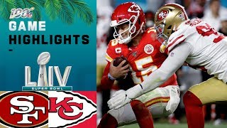 49ers vs Chiefs Super Bowl LIV Game Highlights