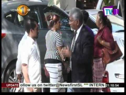 News 1st : CID presents facts pertaining to the assassination of Lasantha Wickrematunge