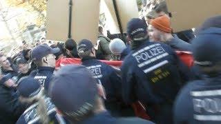 Antifa-Attacke auf BPE-Kundgebung in Stuttgart