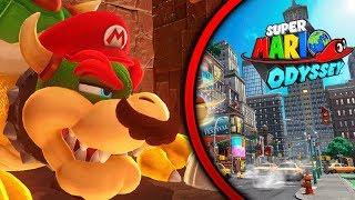 SOY BOWSER !! EL MEJOR FINAL DE Super Mario Odyssey - Gameplay Español#13 - [WithZack]
