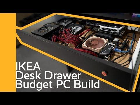 IKEA Desk Drawer Budget PC Build