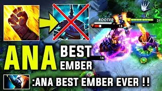 The Reason Why We Call Him Best Ember Ever!! - Ana With Insane Dodges And Plays