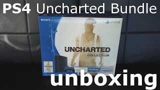 Sony PS4 Uncharted Collection Bundle Unboxing(In this video I unbox the 500GB Sony PS4 Uncharted: The Nathan Drake Collection Bundle. Amazon Link: https://goo.gl/q9JBiy., 2015-11-29T13:53:08.000Z)