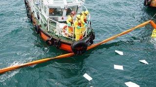 Diễn tập ứng phó sự cố tràn dầu cảng Sơn Dương (Formosa Hà Tĩnh)