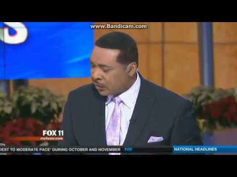 KTTV: FOX 11 10 O'Clock News Open--12/04/13