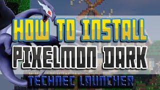 How to install Pixelmon (Technic Launcher) | MASSIVE PIXELMON UPDATE!