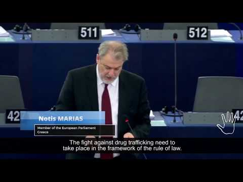 European Parliament Resolution - Hon. Notis Marias, MEP