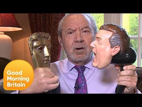 Lord Alan Sugar Teases Piers on GMB's BAFTA Loss | Good Morning Britain