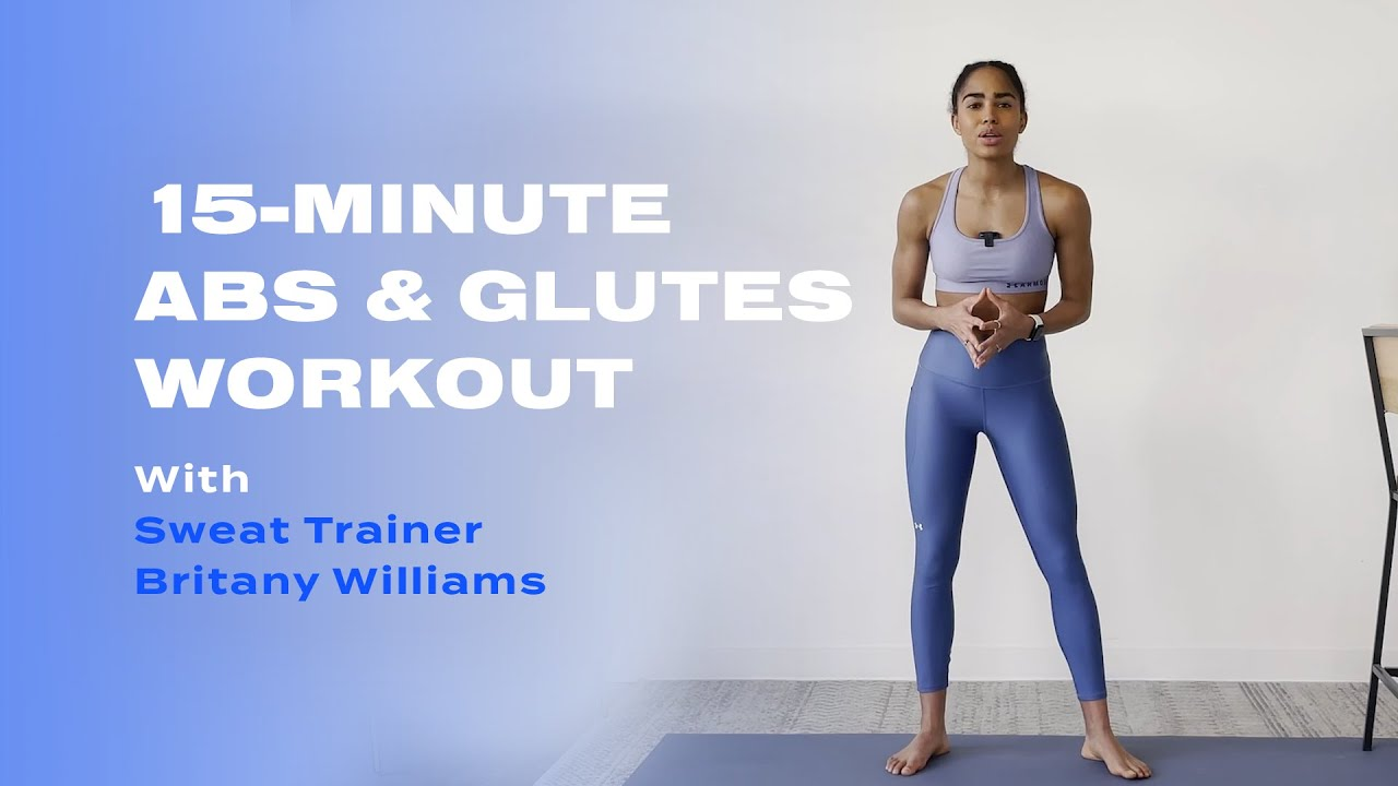 15-Minute Abs & Glutes Barre Workout With Britany Williams