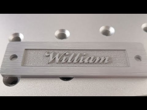 The Best 50W Deep Metal Laser Engraving Machine for Aluminum of 2019