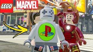 O BIZARRO HOMEM VIDEOGAME no LEGO Marvel Super Heroes EXTRAS #20