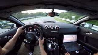 Audi TTRS GTX35 Realtime Mapping MTR Performance Rothe