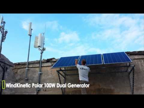 WindKinetic Polar 100W for telecom and surveillance applications