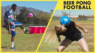 Beer Pong Football - Episode 10 - Freestyle Ultimate Battle