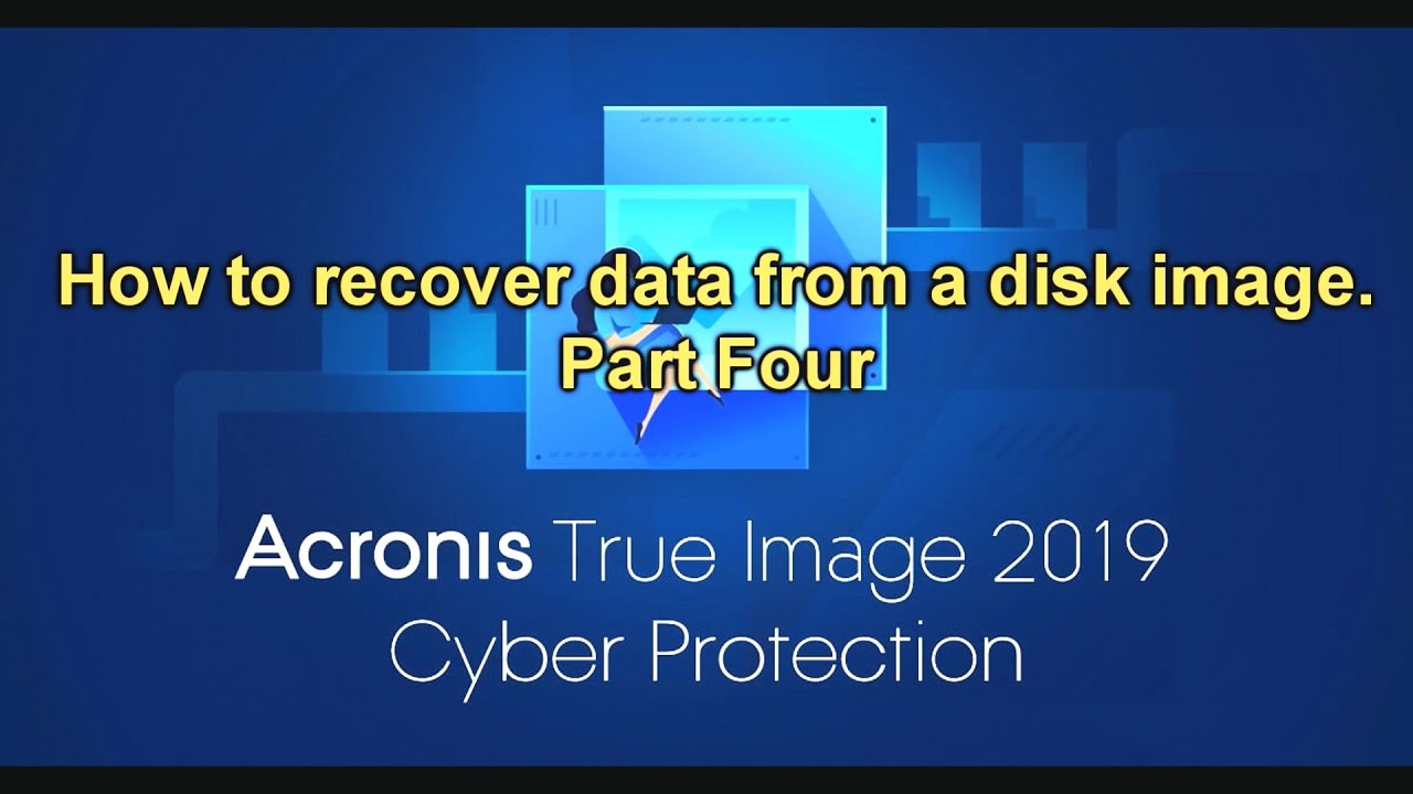 How To Recover A Backup Of A C Windows Drive In Acronis True Image
