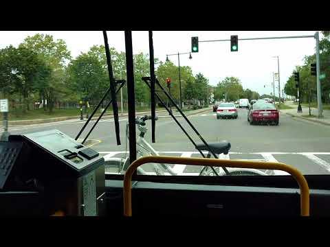 MBTA Route 195: Lemuel Shattuck Hospital to Downtown Boston & Park Street Station [FlyerCNG1681]