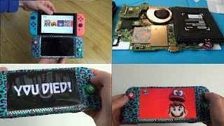 Homemade Nintendo Switch Mini (20% smaller - 30% lighter)