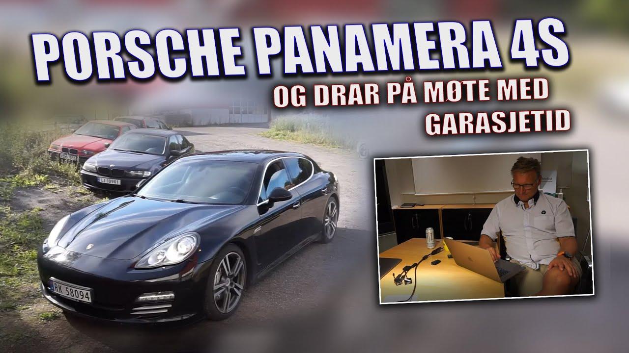 Porsche-tur til Sandefjord - PORSCHE PANAMERA 4S