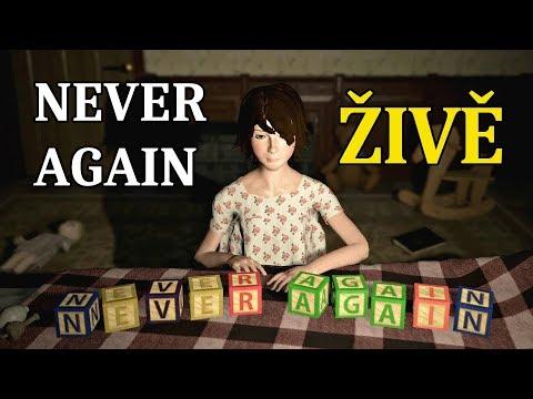 [ŽIVĚ] Never Again (nový update!) | Večerní hororové hraní 👻