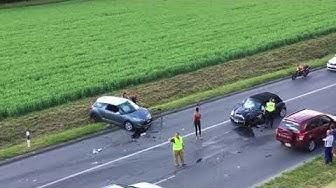 1juin 2018 police suisse  VD accident Bussigny Suisse  conforama
