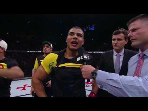UFC 212: Paulo Borrachinha Octagon Interview