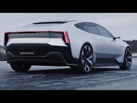 2021 Polestar Precept Concept   interior Exterior and Drive