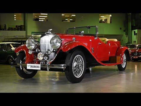 1938 Bentley 4¼ Litre Open Tourer - 2019 Shannons Sydney Autumn Classic Auction
