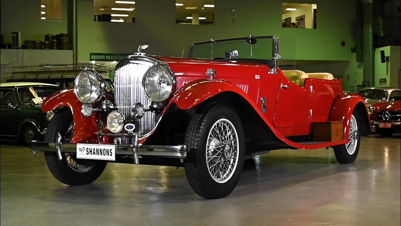 1938 Bentley 4¼ Litre Open Tourer - 2019 Shannons Sydney Autumn Classic Auction
