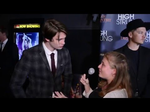 Nicholas Galitzine Interview at High Strung Movie LA Premier