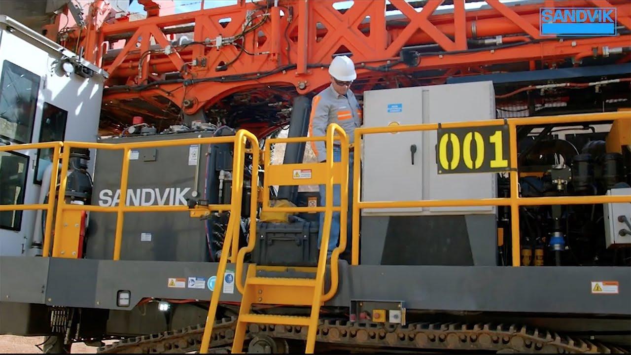 Sandvik DR410i Maintenance Video  | Sandvik Mining and Rock Technology