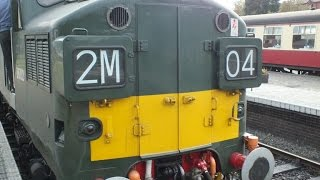 North Norfolk Railway - Class 37 - 27th Sep 2014