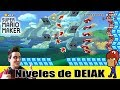 Los divertidos niveles de DEIAK - Super Mario Maker (Video especial)