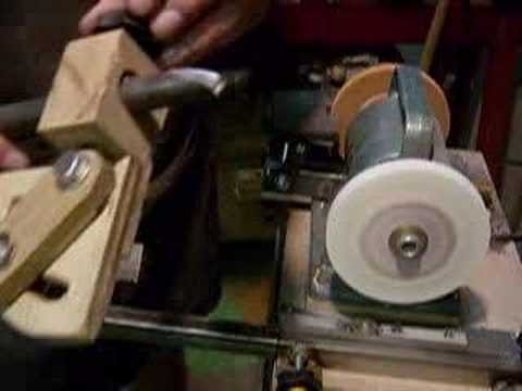 Sharpening a Bowl Gouge - YouTube