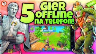 5 NAJLEPSZYCH gier OFFLINE Na Telefon! 6 *najlepsze na wakacje*